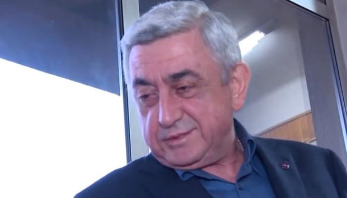 Սերժ Սարգսյանը խախտեց լռությունը