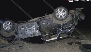 Գեղարքունիքում բախվել են Nissan Murano-ն ու Ford Focus-ը. 6 մարդ հոսպիտալացվել է