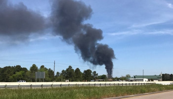 Chemical Plant Fire in East Harris County