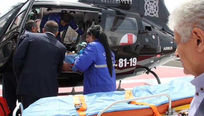 «Այսօր ուղղաթիռով տեղափոխվեց առաջին հիվանդը». Աշոտ Սարգսյան