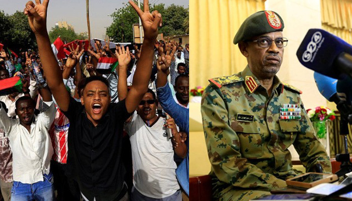 Sudan protesters reject army takeover after removal of president