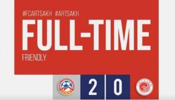 Հայաստանի մինչև 19 տարեկանների հավաքականը հաղթեց «Արցախ»-ին