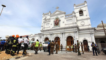 Sri Lankan police arrest seven terror suspects after 'being warned of Easter attack by Muslim extremists TEN DAYS before suicide bombers killed people'