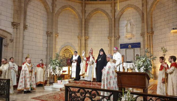 Divine Liturgy in memory of Armenian Genocide victims held at Notre-Dame-du-Liban in Paris