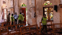 Sri Lanka suicide bomber FAMILY: Two brothers blew themselves up in terror attack, then wife of one killed herself and their two children with explosives when police raided their home