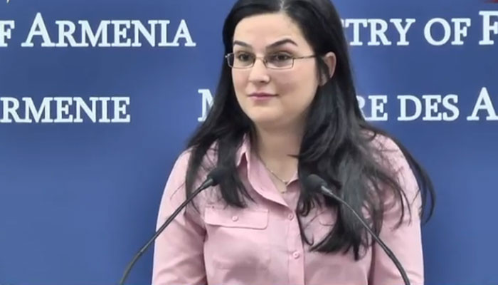 The Response of Armenian Foreign Ministry Speaker to Azeri Speaker's Statement