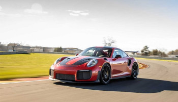 Porsche 911 GT2 RS sets production car lap record at Road America – David Donohue onboard camera