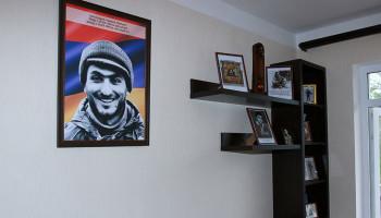 В Шуши открылся дом-музей героя Арцахской войны Душмана Вардана
