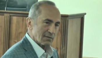 Суд освободил Роберта Кочаряна из-под ареста