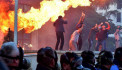 Albania protests continue as petrol bombs hurled at prime minister's office
