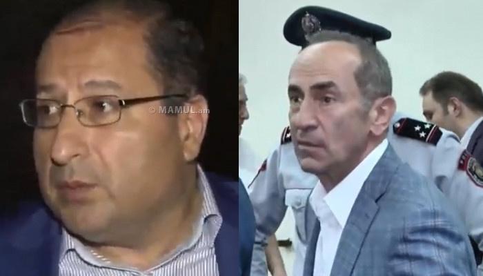 «Հիմա գոյություն չունի միջնորդություն պարոն Քոչարյանին կալանքի տակ պահելու ժամկետը երկարացնելու մասին». Հայկ Ալումյան