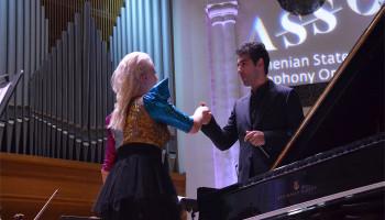 Հայաստանի պետական սիմֆոնիկ նվագախումբը ներկայացրեց Շոպենի և Բորոդինի ստեղծագործություններից