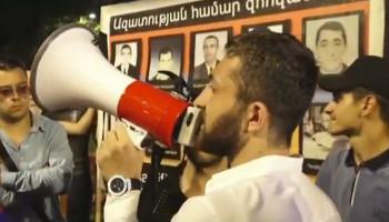«Պրիվետ, Ռոբ», «Ռոբիկ, մարդասպան». ցուցարարները երթ են անցկացնում Երևանում