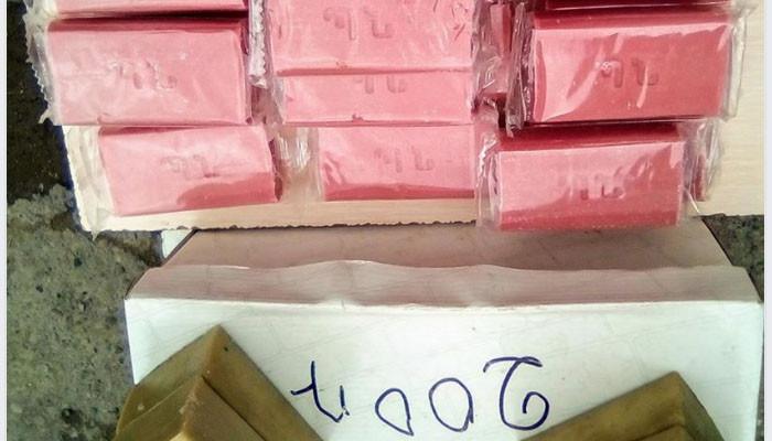 Գյումրիի շուկայում ՊՆ պատվերով արտադրված օճառ են վաճառում
