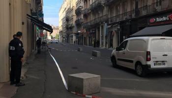 В Лионе прогремел взрыв