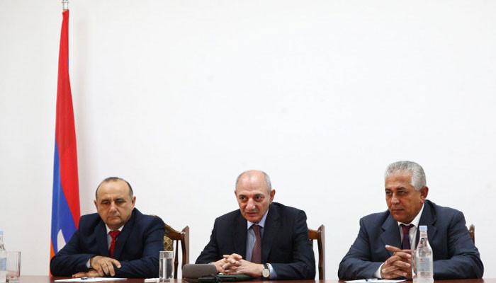 Բակո Սահակյանը Հադրութի շրջանի նոր ղեկավար է նշանակել