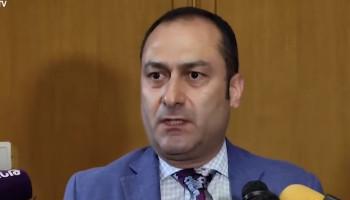 Артак Зейналян: Я принял для себя решение подать в отставку, оценив информационные потоки