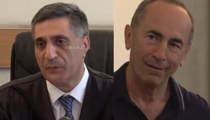Քոչարյանի և մյուսների գործով դատավորն ինքնաբացարկ չհայտնեց