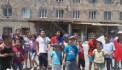 Նոր Գեղիում երեխաները ցույցի են դուրս եկել