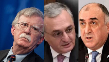 John Bolton to meet Armenian, Azerbaijani FMs in Washington D.C.