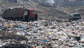 Canada produces the most waste in the world. Armenia ranks 6th