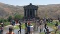 Վարդավառը Գառնու տաճարում՝ հեթանոսական ծեսին համահունչ
