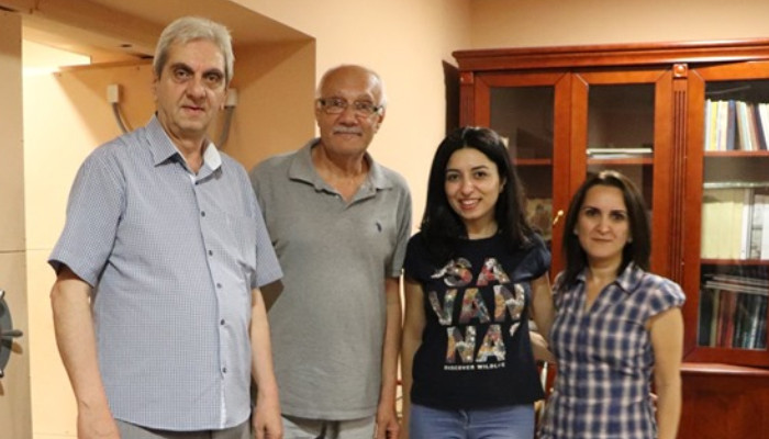 Kostan Zarian's grandchildren donated to Mashtots Matenadaran the archive of the outstanding Armenian writer