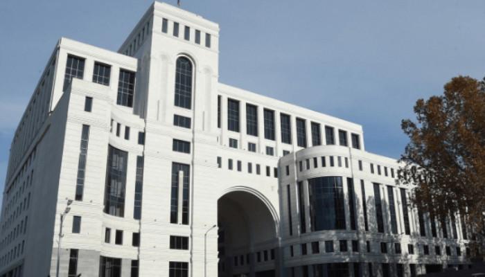 ՀՀ ԱԳՆ-ի արձագանքը՝ Ադրբեջանի հայտարարությանը