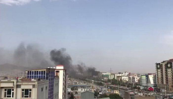 Dozens Injured In Taliban Car-Bomb Attack On Kabul Police Station