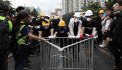 Hong Kong police fire tear gas at anti-government protesters