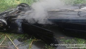 Խոշոր ավտովթար Երևան-Իջևան ավտոճանապարհին