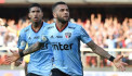Brazil's Dani Alves scores winner on Sao Paulo debut