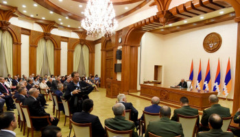 Solemn awarding ceremony dedicated to the 28th anniversary of the Artsakh Republic proclamation