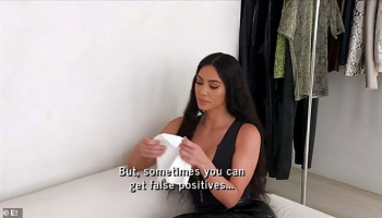 KUWTK season premiere: Emotional Kim Kardashian is comforted by sister Kylie Jenner as she tests positive for lupus antibodies after suffering from joint pain