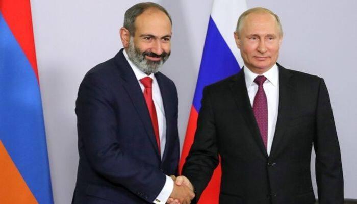 Путин в Ереваневстретится с Пашиняном и Рохани