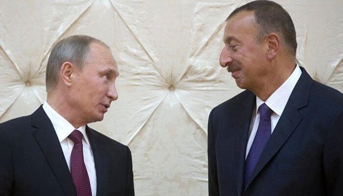 По приглашению Путина Алиев прилетел в Сочи
