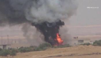 Курды сняли на видео уничтожение турецкого танка