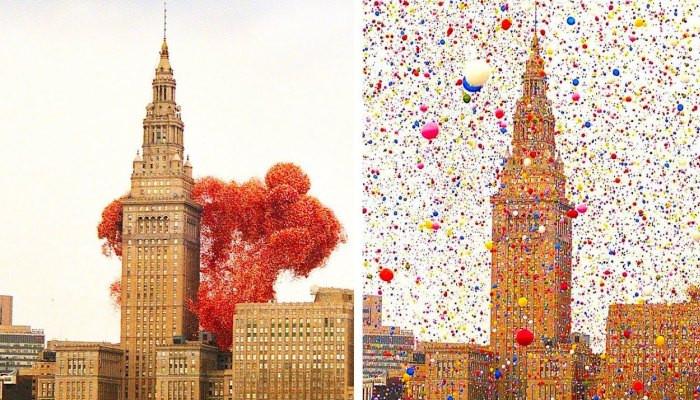 Трагедия фестиваля Balloonfest 1986 в нарезке из телерепортажей