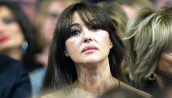 Папарацци запечатлели постаревшую Монику Беллуччи