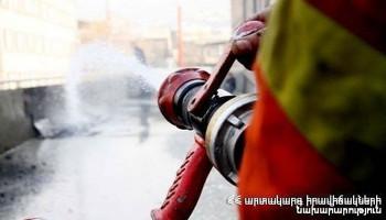 Հրդեհ Պոպովի փողոցում. տուժածը հոսպիտալացվել է