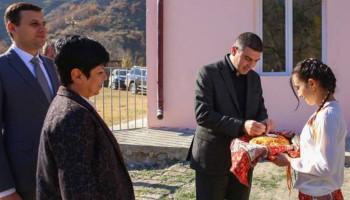 Քաշաթաղի շրջանում հիմնանորոգումից հետո բացվել է Տանձուտի հիմնական դպրոցը
