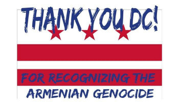 Washington DC has adopted a resolution that recognizes Armenian Genocide
