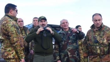 President Sahakyan and Prime-Minister Pashinyan visited the borderline