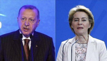 Erdoğan, new EU Commission head discuss Syrian refugees in phone call