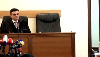 Ռ. Քոչարյանի գործով դատավորին ինքնաբացարկի վճիռը՝ դեկտեմբերի 9-ին