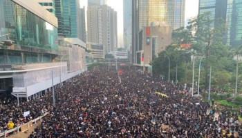 Այսօր Հոնկոնգում կայացել է վերջին ամիսների ամենազանգվածային ցույցը