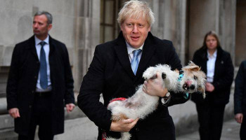Boris Johnson vote: Where is Carrie Symonds as Boris brings dog to vote?