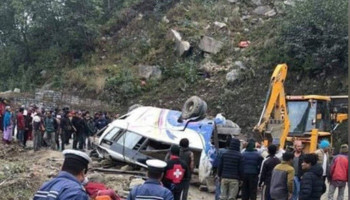 13 killed, dozens hurt in Sindhupalchowk bus accident