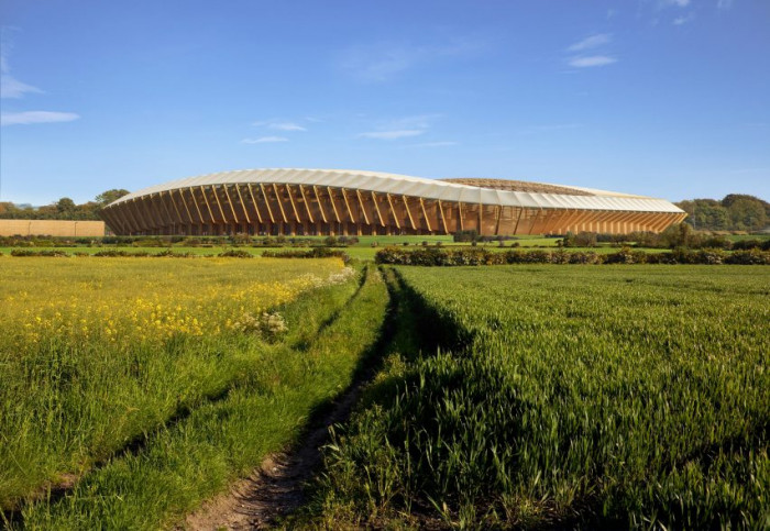 Աշխարհի առաջին փայտե մարզադաշտը կկառուցվի Անգլիայում