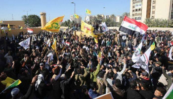 Protesters attack US embassy in Baghdad after airstrikes
